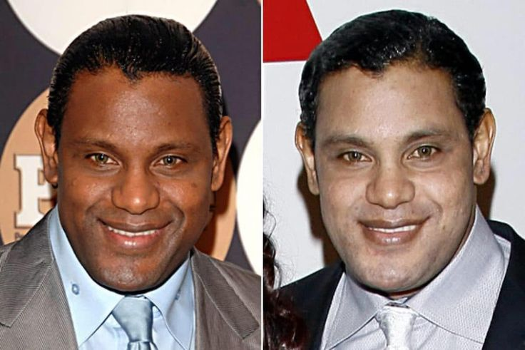 """""""Whoa! What happened to Sammy Sosa?! The retired baseball slugger's skin has appeared ghostly pale as of late, prompting speculation that he's either bleaching his skin or suffering the same dermatological disorder that the King of Pop said he had. A friend of the athlete claimed he was just 'going through a rejuvenation process for his skin,' but the look is more jarring than rejuvenated."""""""