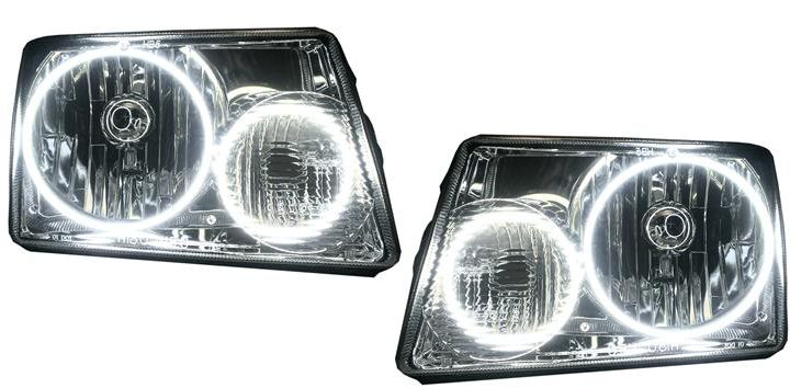 "Custom Industries — ""01-2010"" Ford Ranger Headlights w/ Halos"
