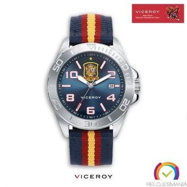 Reloj Selección Española 42227-35. Relojes Viceroy. Reloj Oficial España Eurocopa 2016.