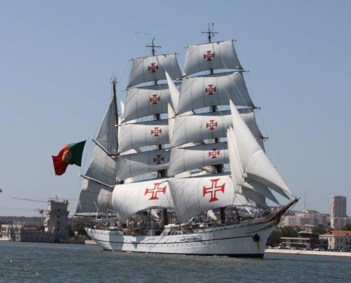 The Tall Ships arriving in Lisbon
