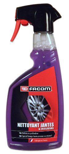 Facom 006163 Nettoyant Jantes & Enjoliveurs 500 ml: Formule concentrée à action ultra rapide. Dégraisse et nettoie sans effort les jantes…