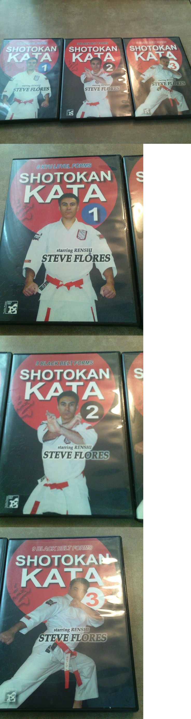 DVDs Videos and Books 73991: Shotokan Karate Dvd Set White To Black Belt Kata 3 Dvds Rare Nice Collector Set -> BUY IT NOW ONLY: $109 on eBay!