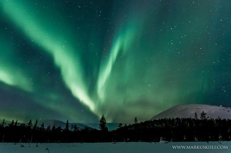 Auroras between Kesänki & Kellostapuli