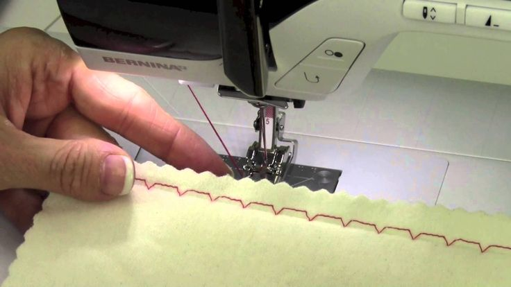 Bernina 380 17 Utility Stitches