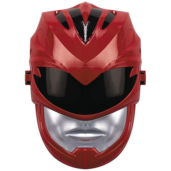 Collectibles : Power Rangers Movie Red Ranger Sfx Mask