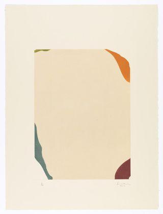 Helen Frankenthaler. Weather Vane. 1969-70