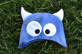Free pattern: Child's fleece monster hat · Sewing | CraftGossip.com