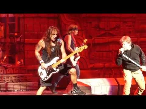 """""""Children of the Damned"""" Iron Maiden@Wells Fargo Center Philadelphia 6/4/17"""