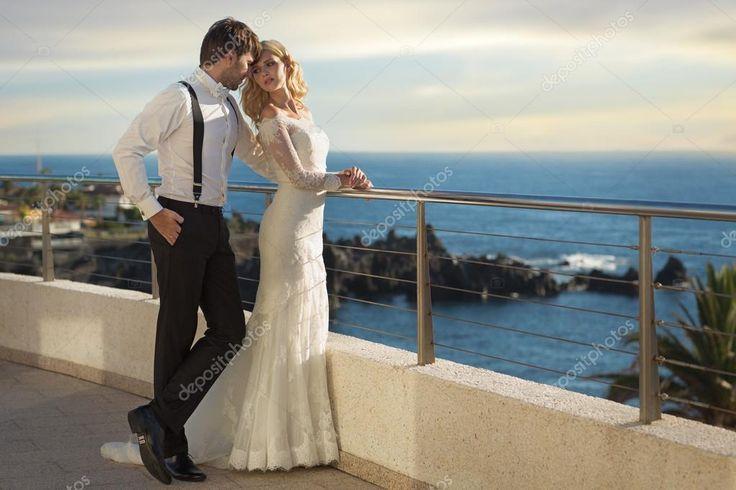 A házasság pár romantikus kép — Stock Kép #71557925