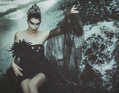"Check out new work on my @Behance portfolio: ""The Black Swan"" http://be.net/gallery/38171839/The-Black-Swan"
