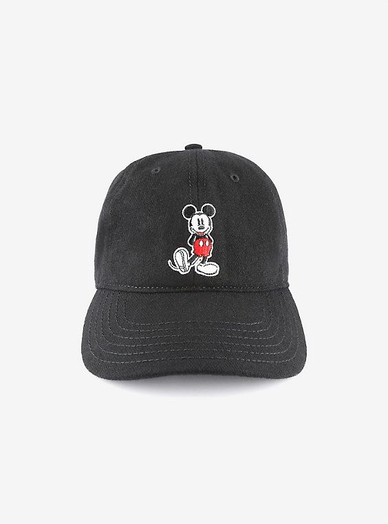 Disney Mickey Mouse Wool Dad Hat in 2018  8b9277d31a4