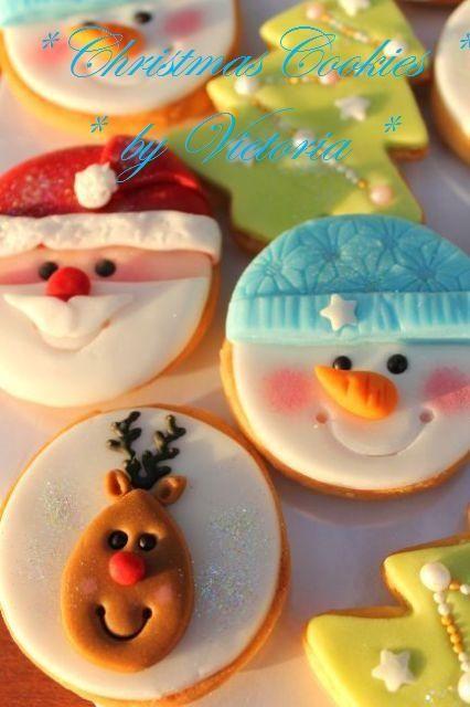 Chrismas Cookies navidad #galletas
