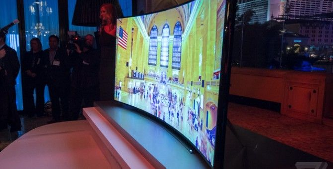 Samsung's New Curved TV Costs More Than a Porsche