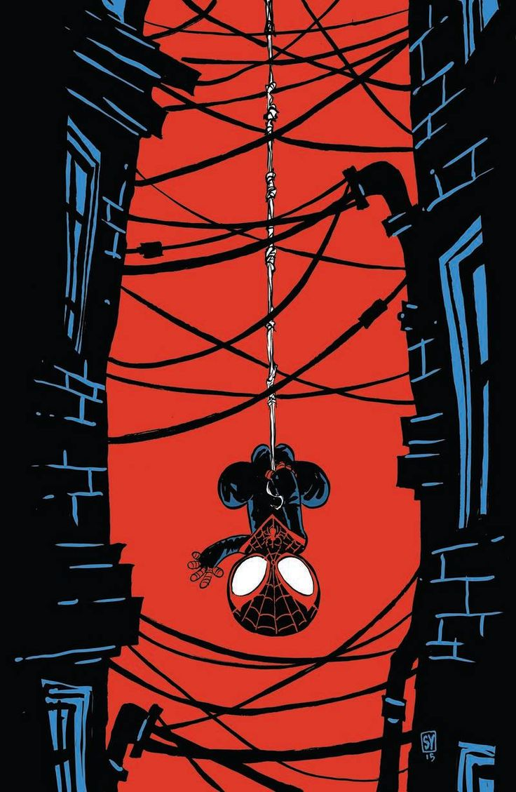 Spider-Man #1 variant cover by Skottie Young *