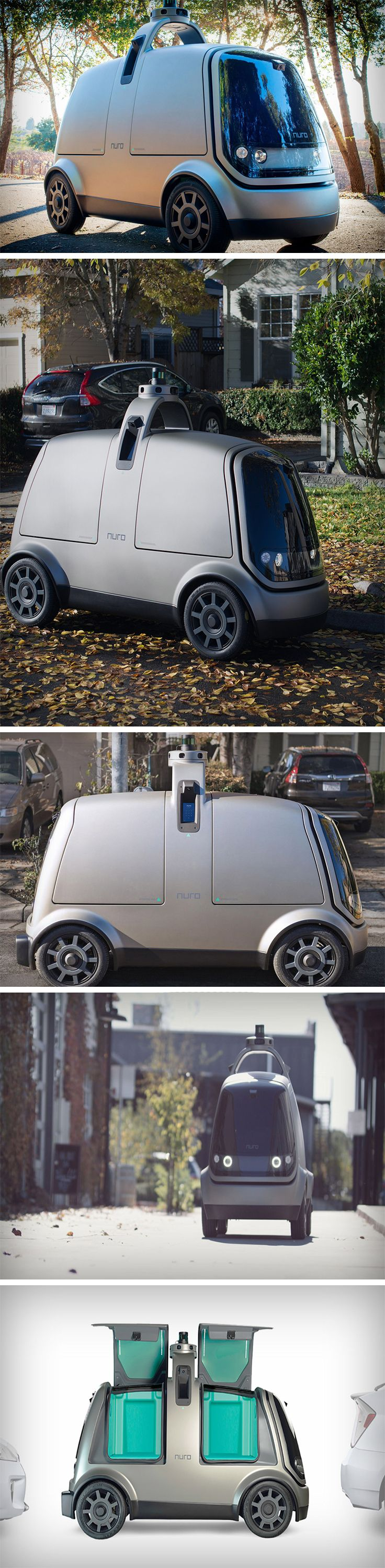 Two Google engineers have risen to the top with their interesting spin on autonomous transportation in the form of Nuro. Focused on deliveries, Nuro delivers explicitly the kind that is low-speed, local, and last-mile: groceries, laundry, and take-out orders. Everything you need that's reliable, short distance and easily accessible right?