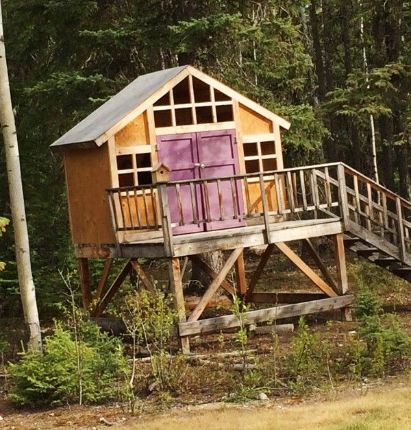 Easy diy tree houses