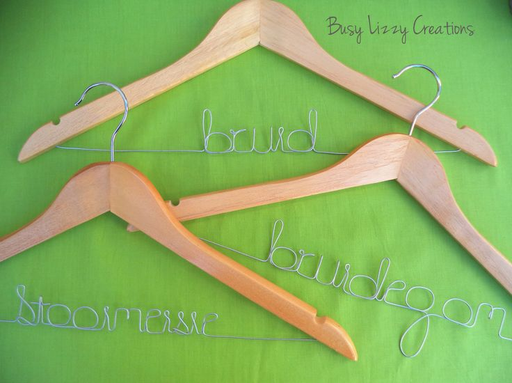 Wedding / Bridal hanger... many styles available, visit website
