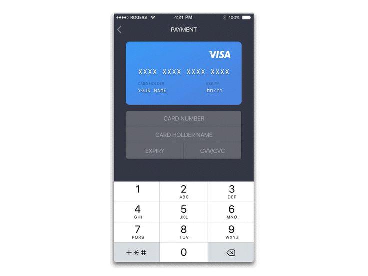 Daily UI 002 - Credit Card Checkout by Suhaila Baheyeldin