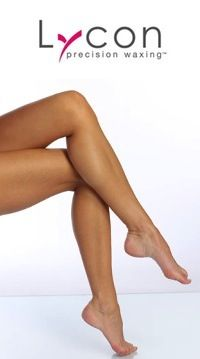 Get gorgeously smooth legs with Lycon Waxing at A Beauty Revolution