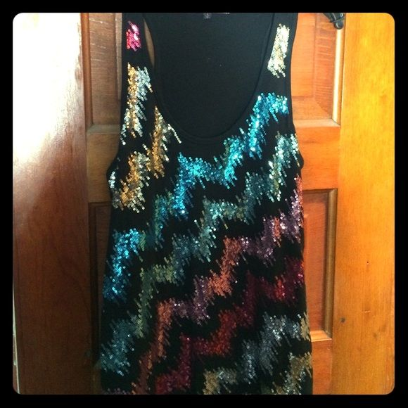 Black sequin razorbacknwt almost famous sequins and black sequins