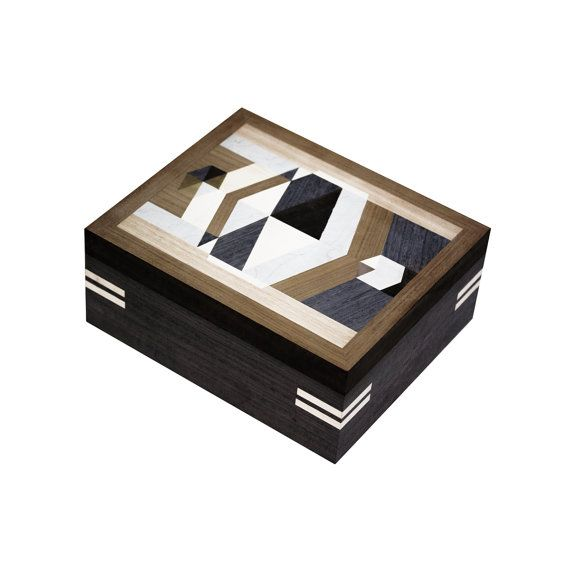 Jewelry/treasure box from exotic Indonesian woods such as teak, coconut, merbau, mangosteen and mango  Excellent choice for storing valuable
