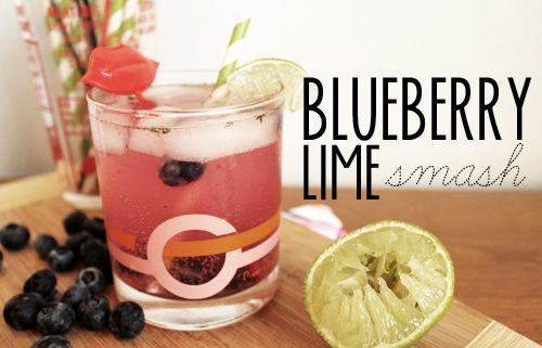 Blueberry Smash Recipe — Dishmaps