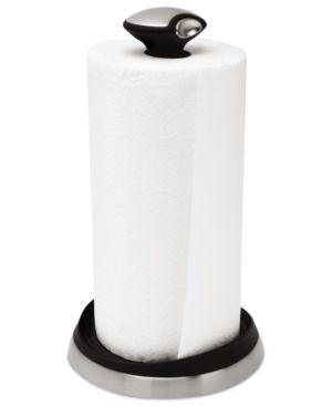 simplehuman Paper Towel Holder, Quick Load - Black