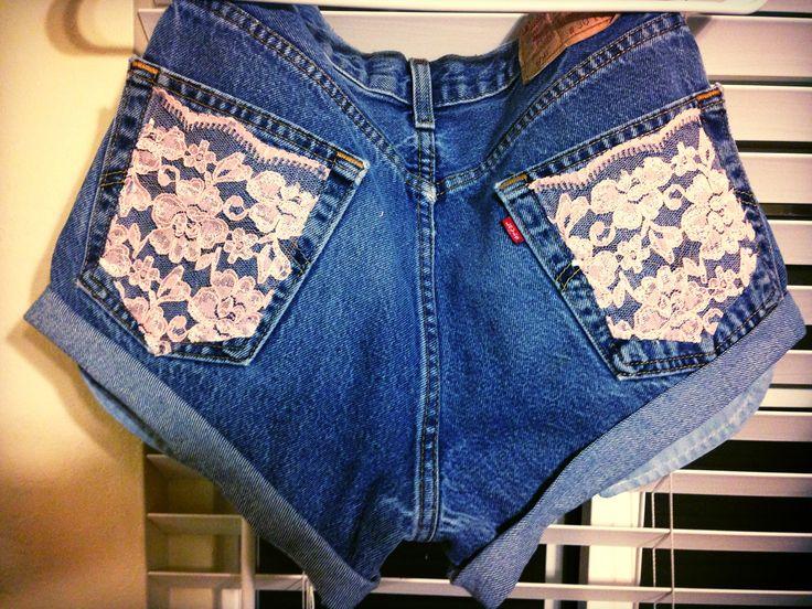 DIY Highwaisted Shorts