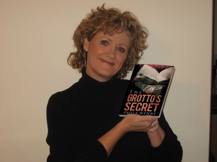 Proud new author of The Grotto's Secret