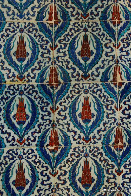 The Tiles of Rustem Pasha Mosque / Istanbul,Turkey