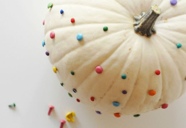 Show off your Halloween spirit with these unique and one-of-a-kind ideas for designing and displaying your pumpkin throughout the home this season. The spooky, starry sky is the limit as far as creativity goes! And good news—to produce a creation that's wow-worthy, your pumpkin doesn't always have to go under the knife. To get started, just raid your craft drawer. Whether you have puffy paint and glitter or kidney beans and thumb tacks, you'd be surprised how much you can do. Click through…