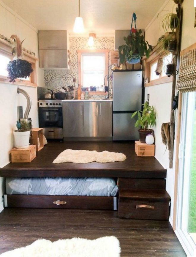 Tiny Home Storage Ideas 66