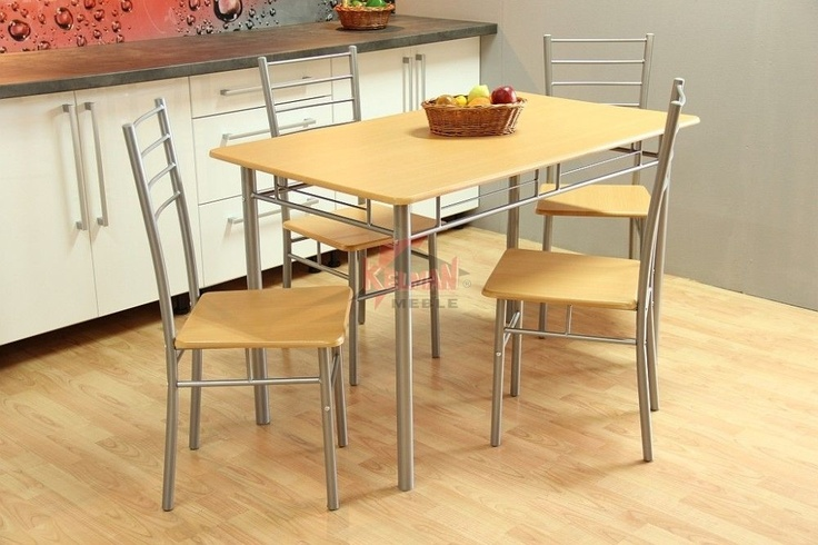 Hit! Zestaw kuchenny Olcha (stół + 4 krzesła)