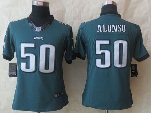19c2147e10a ... Kiko Alonso Road Jersey - Nike 50 Philadelphia Eagles NFL Nike240209 Mens  NFL Philadelphia Eagles 32 Rowe Green Elite Jersey.