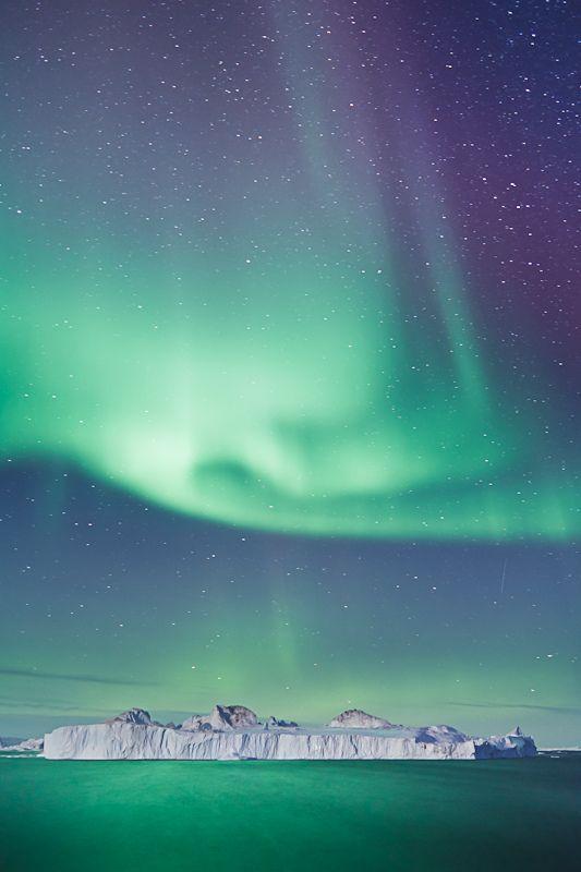 Northern Lights, Ilulissat, Greenland - Furkl.Com