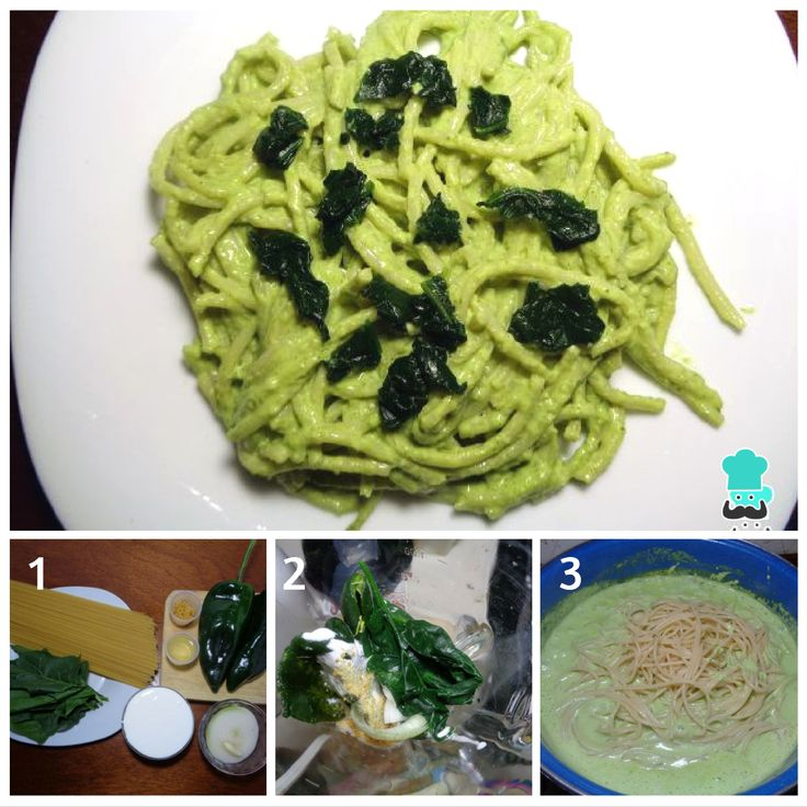 144 best pasta images on pinterest drinks kitchens and pasta receta de espagueti verde con espinaca fluglutengreen spaghettispaghetti recipesexercisesmeals forumfinder Gallery