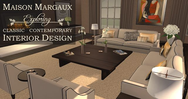 [Blog Post] Maison Margaux: Exploring Classic Contemporary Interior Design