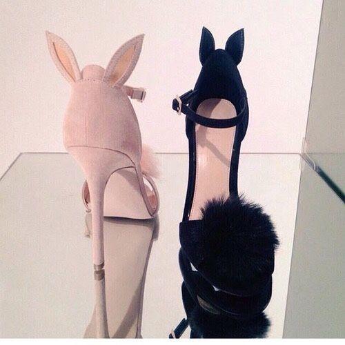 Weird but cute bunny shoes!