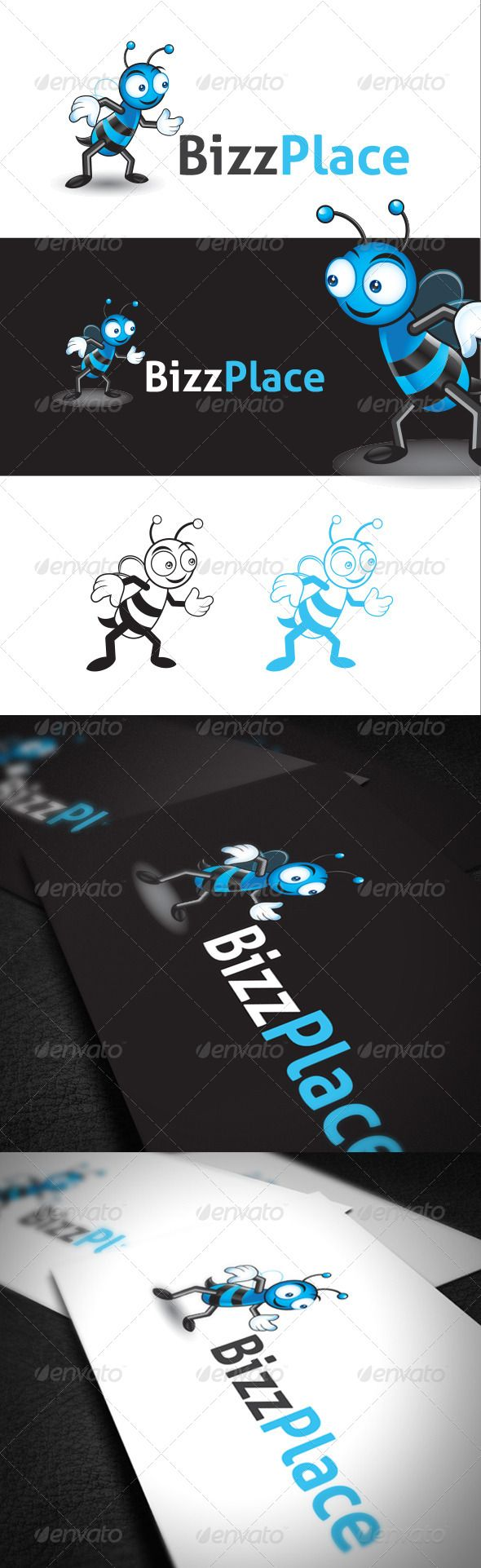 Character Design Bee in Vector Format — Photoshop PSD #clip #web • Available here → https://graphicriver.net/item/character-design-bee-in-vector-format/6799207?ref=pxcr