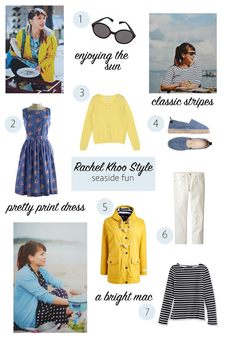 Rachel Khoo Style | At the Beach Lookbook