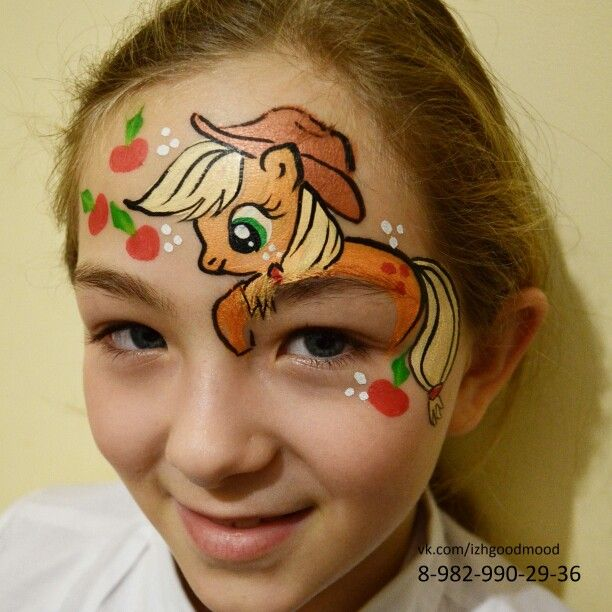 Faceart apple jack