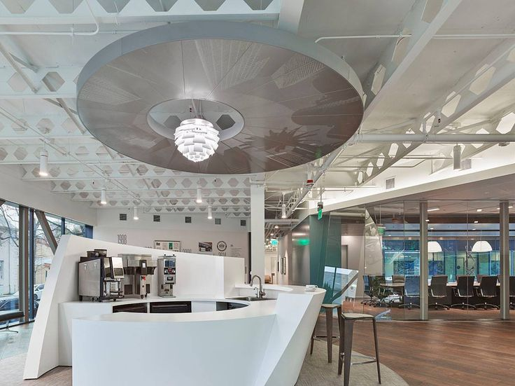 Tangram interiors along with wolcott architecture and le waters received a calibre award for