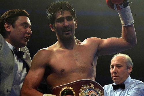 Vijender Singh Wins WBO Asia Pacific Super Middleweight Title - http://www.tsmplug.com/boxing/vijender-singh-wins-wbo-asia-pacific-super-middleweight-title/
