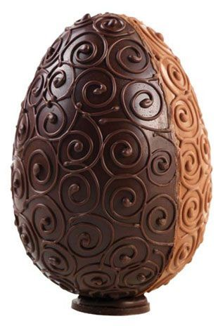 Ovo de Páscoa Chocolate - ovo, ovos, páscoa, chocolate -
