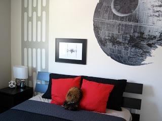 Finished Star Wars BedroomKids Bedrooms, Wars Bedrooms, Finish Stars, Death Stars, Star Wars Bedroom, Kids Room, Stars Wars, Boys Room, Bedrooms Ideas