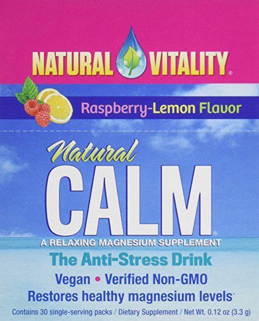 Lauren Roxburgh's Travel Essential: Natural Calm Supplement