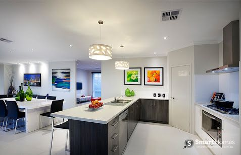 smart homes for living kitchen - Google Search