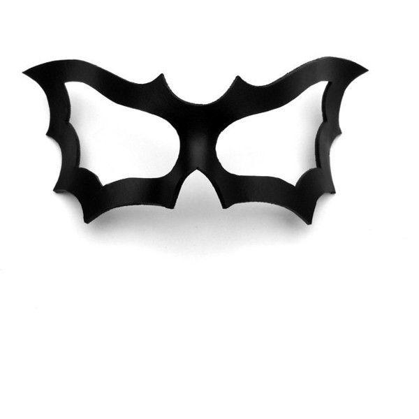 Batgirl Eye Mask Template Bat woman bat girl leather eye mask black ...
