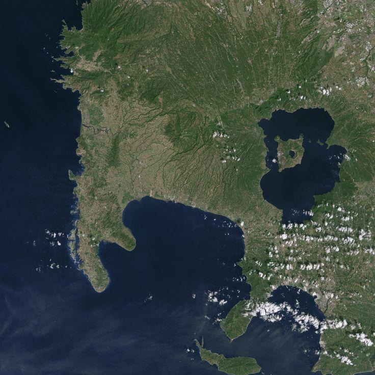 Volcano Island of Taal Image of