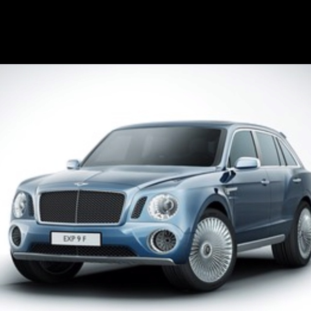 Bentley SUV. Sweet.